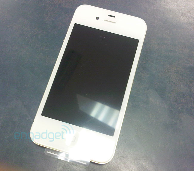 White iPhone 4 Available on Vodafone UK