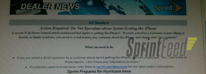 Sprint iPhone 5 Launch