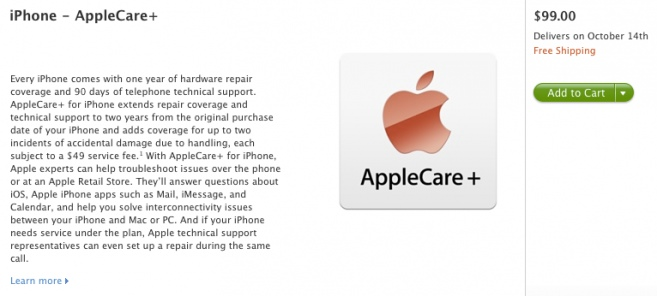 AppleCare+ New Program