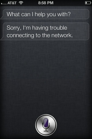 iPhone 4S Siri Not Working