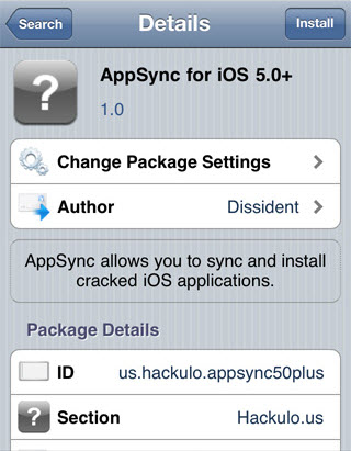 AppSync For iOS 5