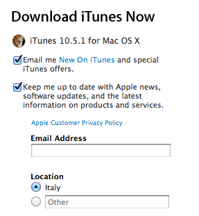 Download iTunes 10.5.1