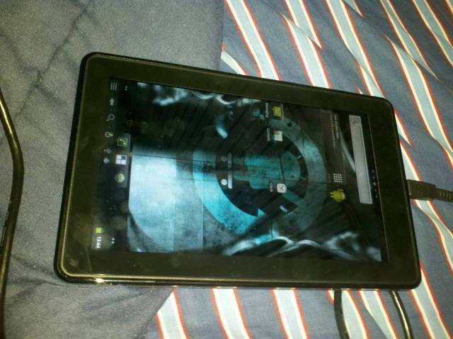 Kindle Fire Running CyanogenMod 7