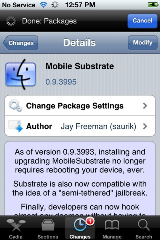 MobileSubstrate Fix On iOS 5.0.1 Untethered