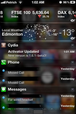 cydia notification center