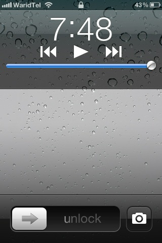 lockscreen bug on ios 5