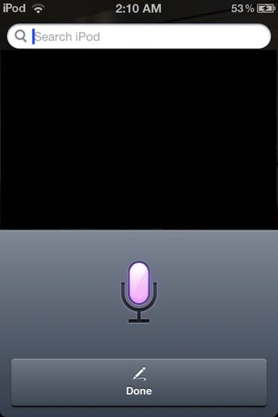 Siri for iPod Touch
