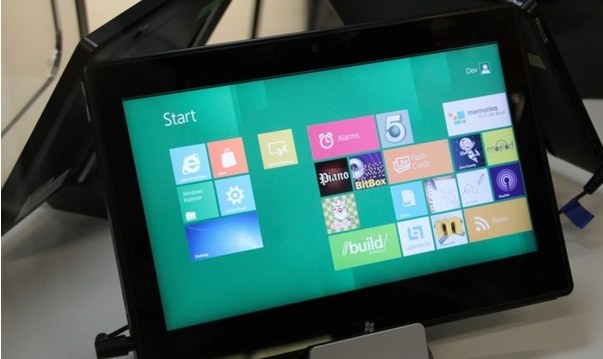 Texas Instrument Windows 8 Tablet