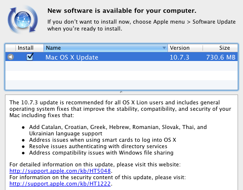 Download Mac OS X 10.7.3
