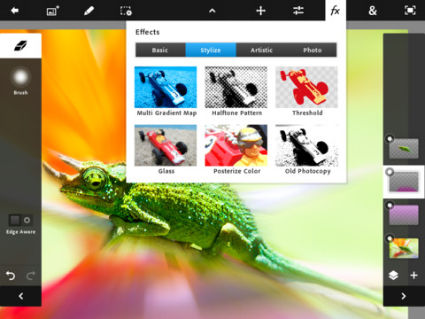 Download Photoshop Touch for iPad