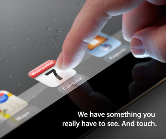 ipad 3 launch