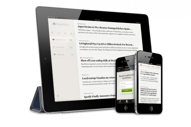 readability app for iphone and ipad