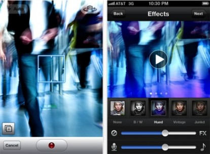 Viddy is like a video catalog like Instagram that lets you capture small ...