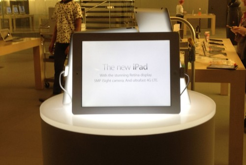 The New iPad Launch - iPad 3
