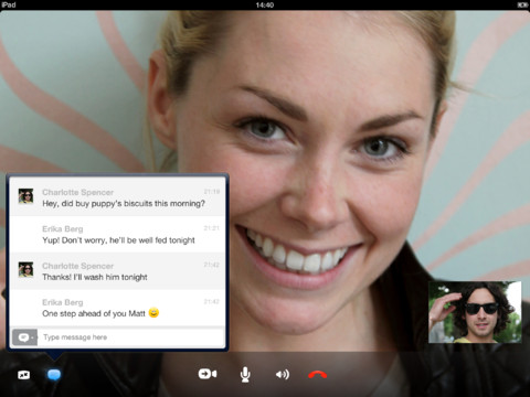 Skype for iPhone & iPad