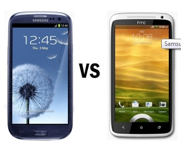 Samsung Galaxy S III vs HTC One S