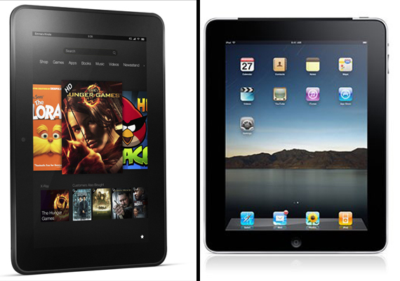 Kindle Fire HD 8.9 vs iPad 3