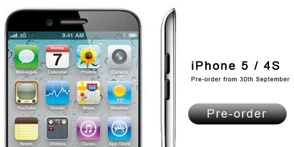 Pre Order IPhone 5