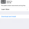Apple Released Ios 7.1 For Users Through OTA